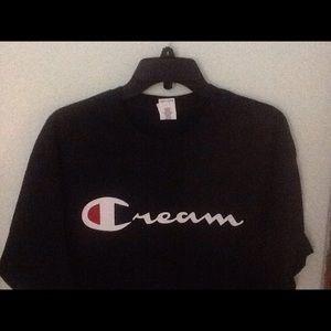 Cream T-shirt New